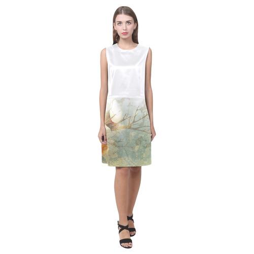Artistic futuristic Dress edition : 21 century designers Dress edition Eos Women's Sleeveless Dress (Model D01)