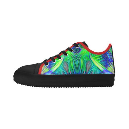 sd wwwuzä Crater Microfiber Men's Shoes (Model 030)