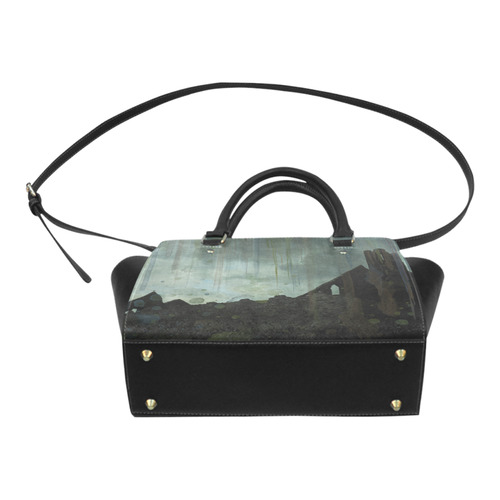 Celtic ruins Classic Shoulder Handbag (Model 1653)