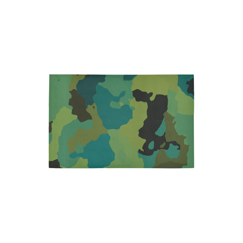 "Earth Camo Area Rug 2'7""x 1'8''"