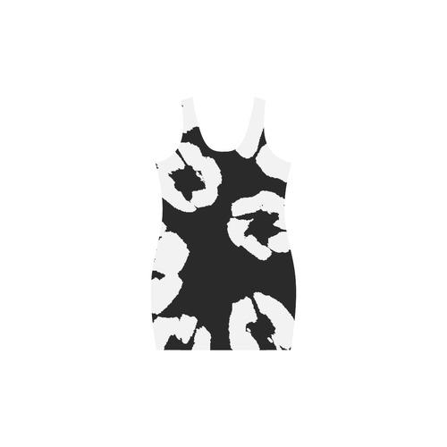 Zappy Black and White Medea Vest Dress (Model D06)