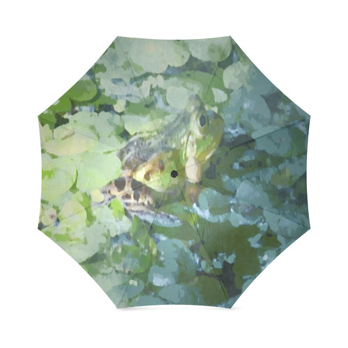 Spot the Frog Foldable Umbrella