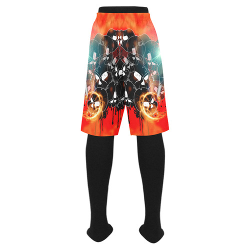 Awesome skulls Men's Swim Trunk (Model L21)