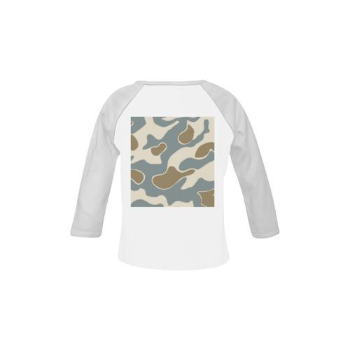 Army style T-Shirt for boy. Designers fashion 2016 edition Baby Organic Long Sleeve Shirt (Model T31)