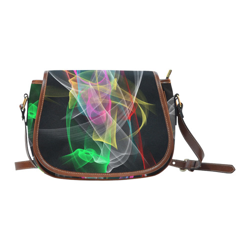 Sound of colors by Nico Bielow Saddle Bag/Large (Model 1649)