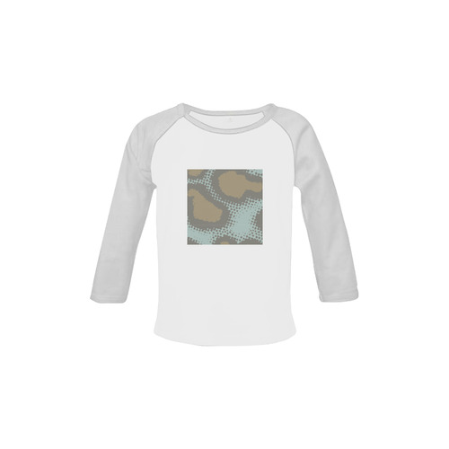 Neutral armo designers T-Shirt for BOY. Original series 2016 in our Designers Shop! Baby Organic Long Sleeve Shirt (Model T31)