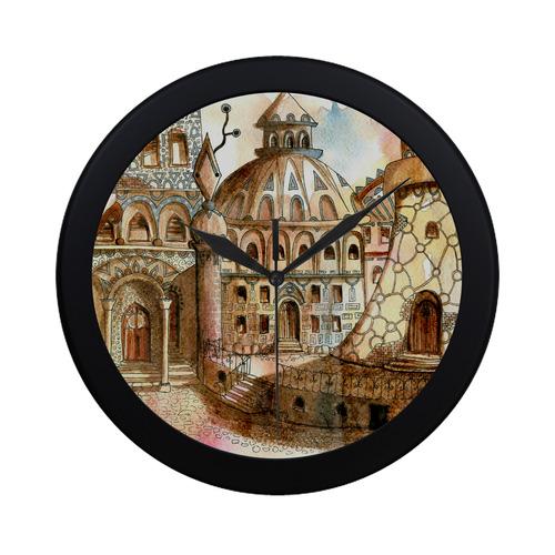 Steampunk Clock Fantasy Art