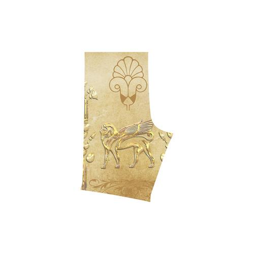 Wonderful egyptian sign in gold Men's Swim Trunk (Model L21)