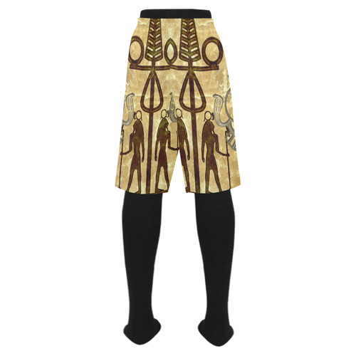 Egyptian sign Men's Swim Trunk (Model L21)