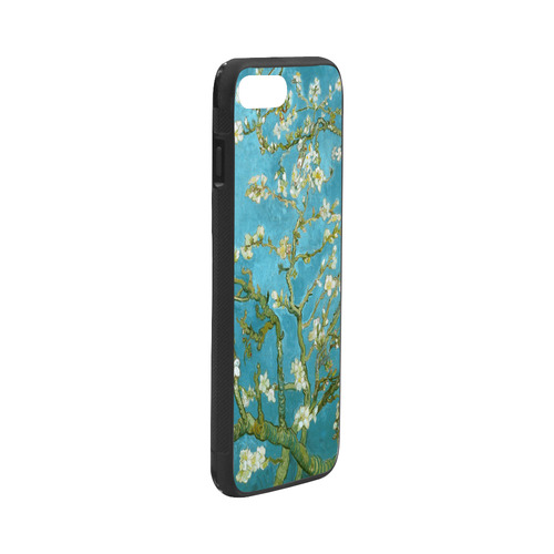 "Vincent Van Gogh Blossoming Almond Tree Rubber Case for iPhone 7 plus (5.5"")"