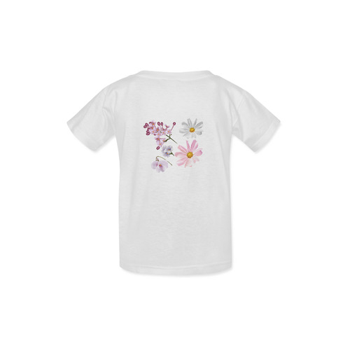 Cute Floral designers T-Shirt edition : white and romance 2016 / New in Shop! Kid's  Classic T-shirt (Model T22)