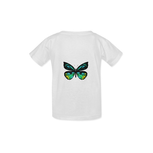 New arrival in Designers shop : White cute butterfly T-Shirt edition / NEW T-Shirt for kids Kid's  Classic T-shirt (Model T22)