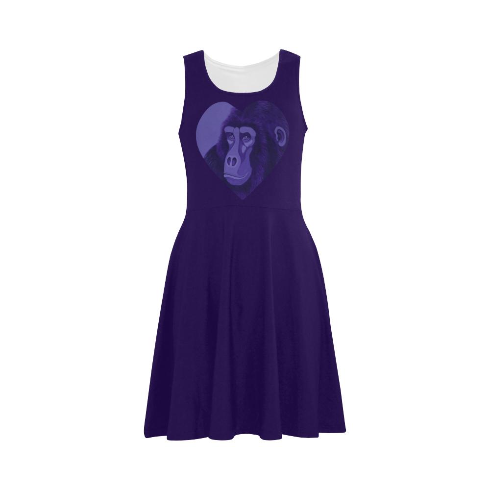 Violet Gorilla Atalanta Sundress (Model D04)