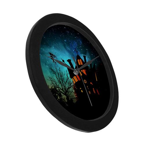 Halloween20160801 Circular Plastic Wall clock