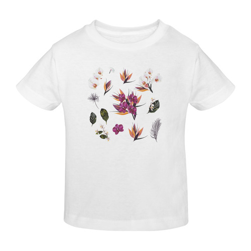 New designers Floral artisti  T-Shirt : Exotic Collection 2016 Sunny Youth T-shirt (Model T04)