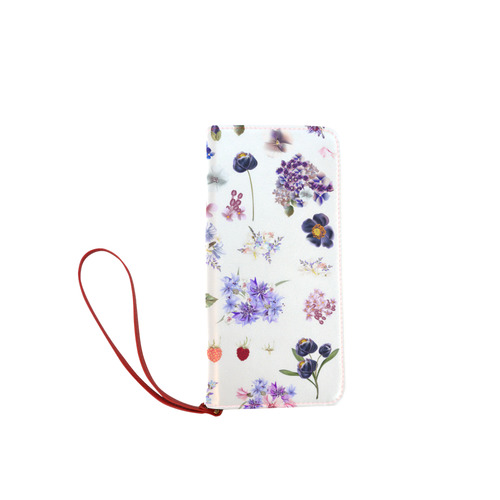 Cute Floral wallet - Designers edition NEW in Shop! Women's Clutch Wallet (Model 1637)