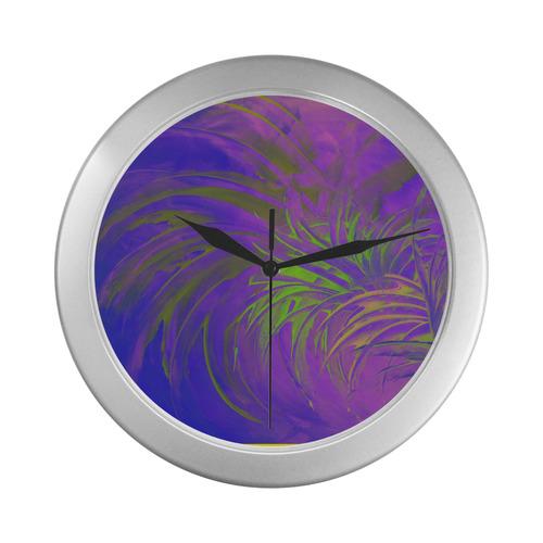 69 Silver Color Wall Clock