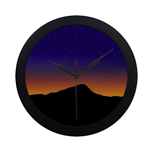 Horizon 1 Circular Plastic Wall clock
