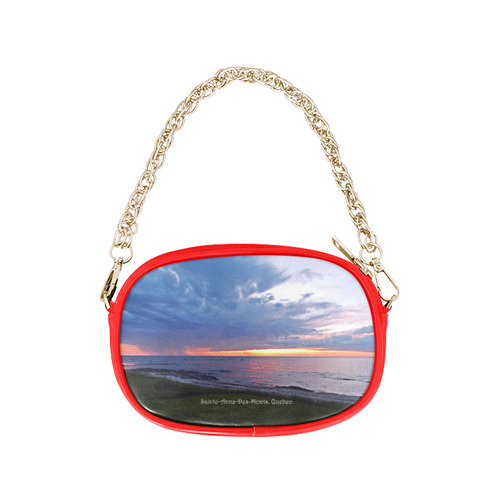 Sunset RainStorm Chain Purse (Model 1626)