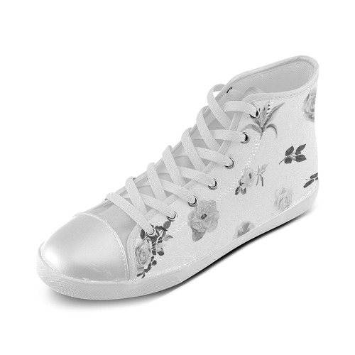 Cute girls herbal Shoes : Monochrome version / New arrival in atelier 2016 High Top Canvas Kid's Shoes (Model 002)
