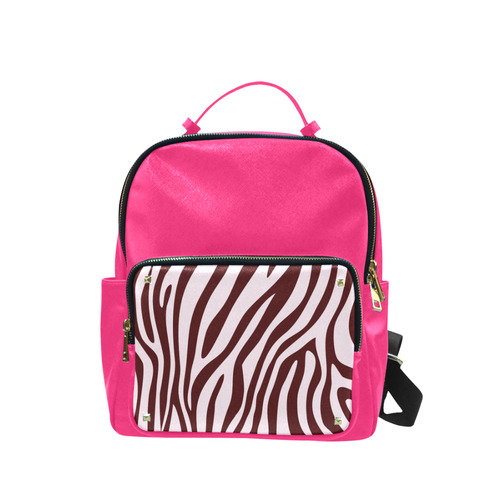 New! Pink and Brown elegant designers BAG Collection. 2016 Rainbow edition only in our Shop! Campus backpack/Small (Model 1650)