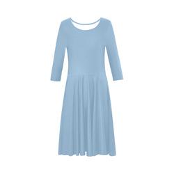67fd4f61f1 Lush Meadow Elbow Sleeve Ice Skater Dress (D20)