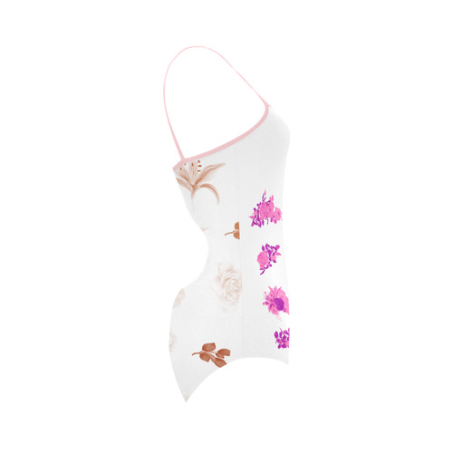 Wild Roses : cute bikini Collection in our designers shop. New arrival 2016 Strap Swimsuit ( Model S05)