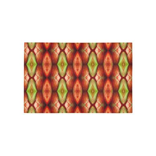 Melons Pattern Abstract Area Rug 5'x3'3''