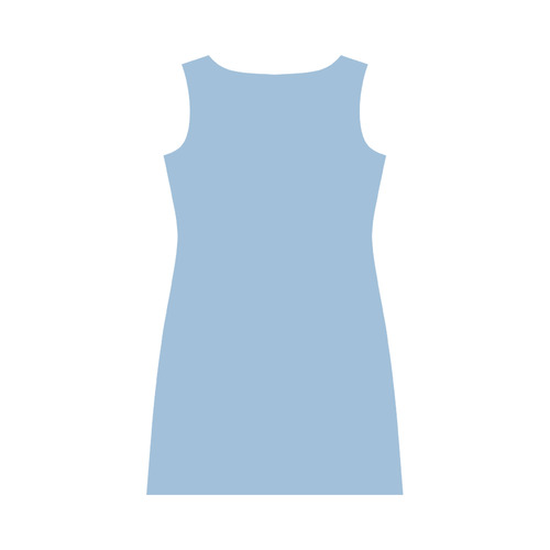 Airy Blue Round Collar Dress (D22)