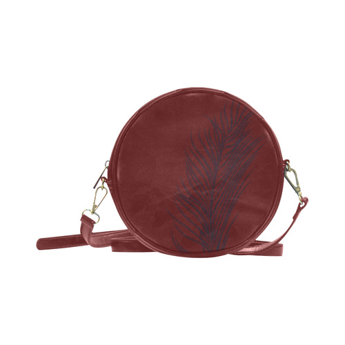 New arrival in Shop! Exotic Designers Bag : Brown with hand-drawn Palm 2016 Edition Round Sling Bag (Model 1647)