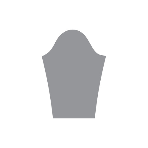 Sharkskin Round Collar Dress (D22)