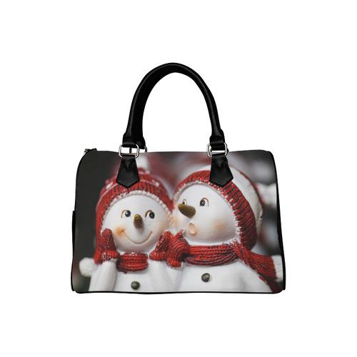 Snowman20161001 Boston Handbag (Model 1621)