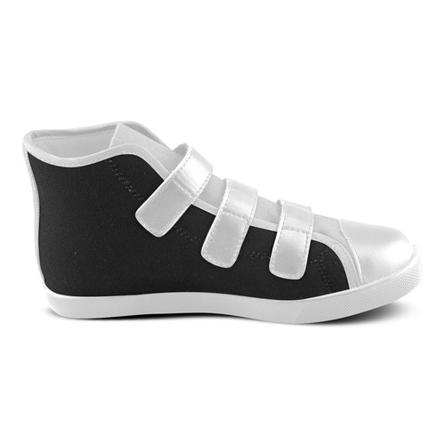 NEW! Contrast Shoes : New arrival in our Design atelier for 2016 / New edition in Shop Velcro High Top Canvas Kid's Shoes (Model 015)