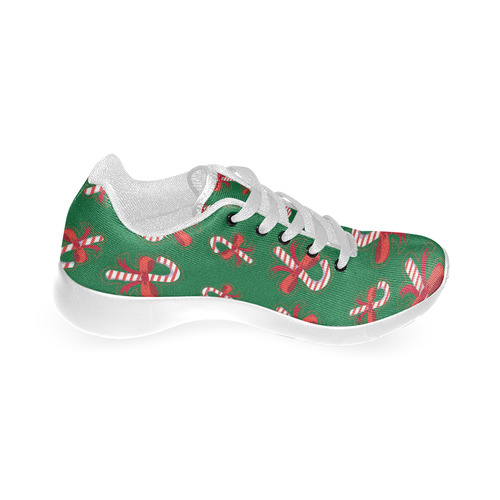 Candy Canes Women's Running Shoes (Model 020)