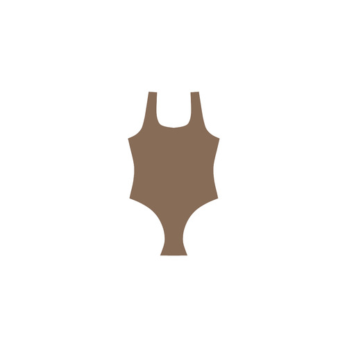 New line of Designers bikini. Brown arrival in our fashion atelier for 2016 Vest One Piece Swimsuit (Model S04)