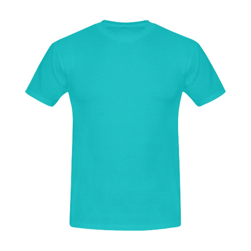 Mare blue designers T-Shirt for Man. NEW EDITION 2016. Designers fashion. Men's Slim Fit T-shirt (Model T13)