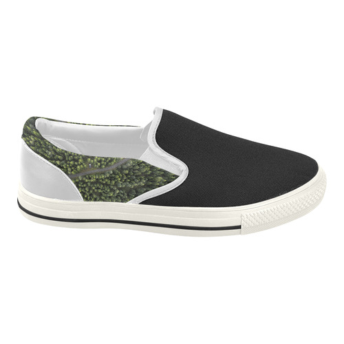 "New! Designers easy Shoes with ""Area forest"". Edition 2016 : New arrival in our Designers  Women's Slip-on Canvas Shoes (Model 019)"