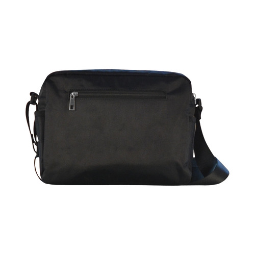 Crushed Classic Cross-body Nylon Bags (Model 1632)