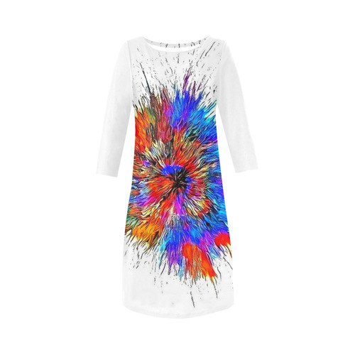 Bang Explosion by Nico Bielow Round Collar Dress (D22)