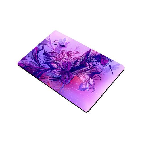 "New arrival in Shop! Nostalgic designers Door Mat edition with flying Dragonflies. Pink Asia - inspi Doormat 23.6"" x 15.7"""