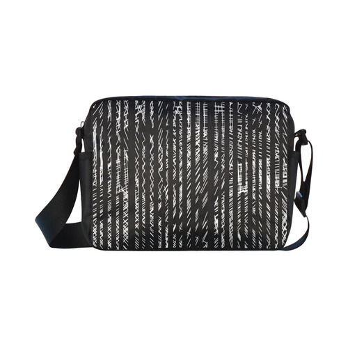 Ouch Part 2 Classic Cross-body Nylon Bags (Model 1632)