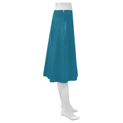 Seaport Mnemosyne Women's Crepe Skirt (Model D16)