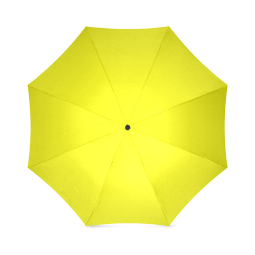 Electric Yellow Foldable Umbrella