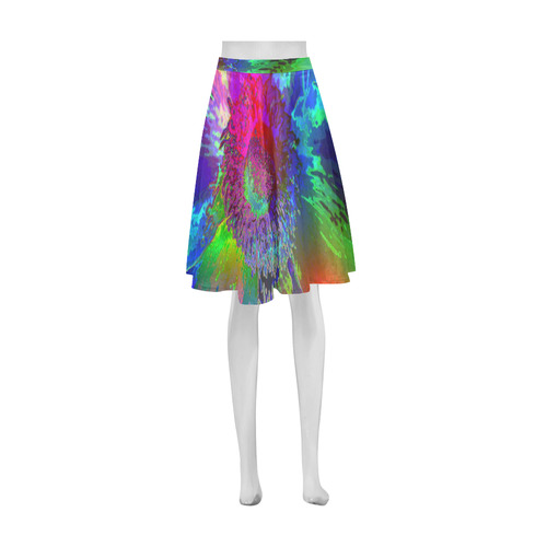 Floral ArtStudio 281016 A Athena Women's Short Skirt (Model D15)