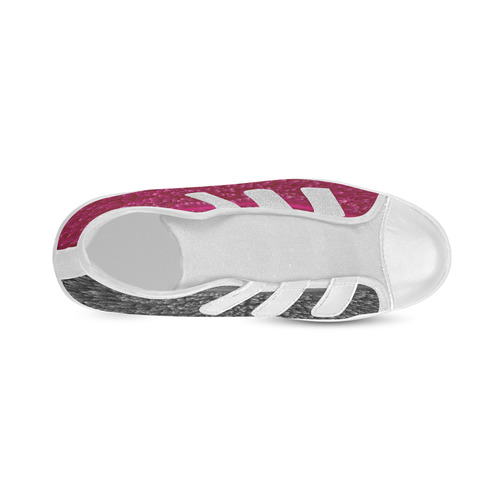 New in shop! Original designers shoe edition. Pink and greyscale. Fashion kids edition. We love it!  Velcro High Top Canvas Kid's Shoes (Model 015)