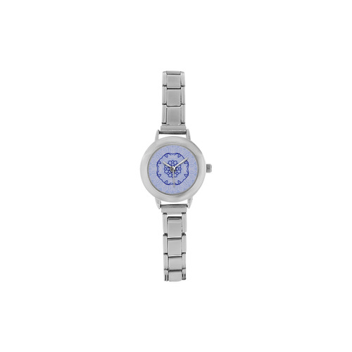 New in shop : Luxury hand-drawn Mandala art on watches. New luxury edition 2016 / winter collection. Women's Italian Charm Watch(Model 107)