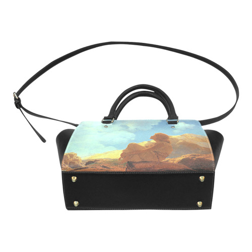 Maxfield Parrish Spring Morning Fine Art Classic Shoulder Handbag (Model 1653)