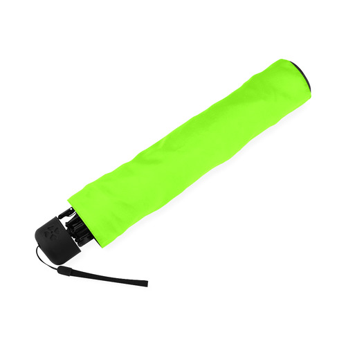 Neon Green Foldable Umbrella