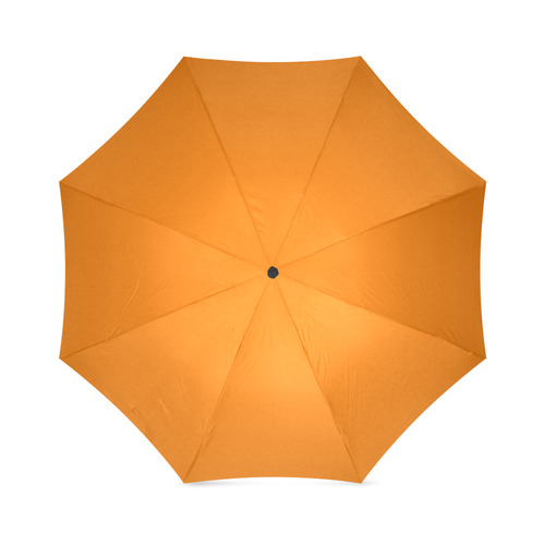 Orange Foldable Umbrella