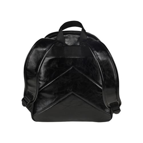 """""""Huster"""" by Skinderella - Black - Multi-Pockets Backpack (Model 1636)"""